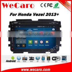 Wecaro WC-HV1030 10.2 inch android 4.4/5.1 car gps for honda vezel navigation 2013 2014 2015 2016 With Wifi and 3G GPS Radio RDS