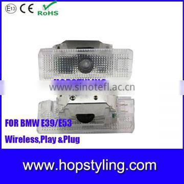 For BMW 5-series-E39 03 year Car door courtesy logo light car welcome laser projector light car LED light