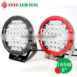 Quality IP68 4x4 car 4WD off road185w led driving lights 9 inch Quality Choice