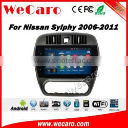 Wecaro WC-NS1015 10.2 inch android 4.4/5.1 car dvd player for nissan sylphy car audio 2006 - 2011 Wifi 3G GPS Radio RDS