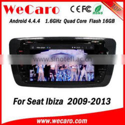 Wecaro WC-SI7004 Android 4.4.4 car multimedia system in dash for seat ibiza android android 1080p 2009-2013