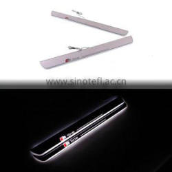 Car LED Flash Door Sill Moving Scuff Plate Light For Audi A3 S3 Four Door 2014 2015 Quality Choice