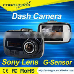 GPS FULL HD Car video recorder (DVR) mini dash cam G-9608 with GPS locator