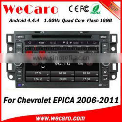 Wecaro WC-CU7011 Android 4.4.4 car dvd player quad core for chevrolet epica car radio gps stereo GPS 2006-2011