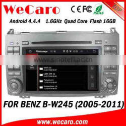 Top Version Android 4.4.4 car dvd 2 din for mercedes-benz a class w169 car audio system WIFI 3G 1080p 2004-2012