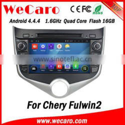 Wecaro WC-MC8029 Android 4.4.4 car gps navigation 1024*600 for chery fulwin2 radio Steering Wheel Control