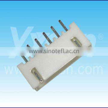 6 pin straight single row wafer connector