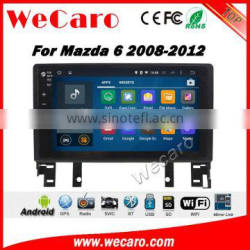 Wecaro WC-MM1025 10.2 inch android 4.4/5.1 car stereo audio for mazda 6 car dvd android 2008 - 2012 With Wifi and 3G Radio RDS