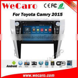 Wecaro WC-TC8017 android 5.1.1 car gps navigation system for toyota 2015 camry dvd multimedia bluetooth wifi 3g playstore