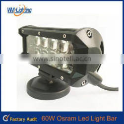 Hottest Car Auto 60w led work lamp bar for trucks