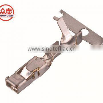 Customized metal stamping male and female car connector plug inserts terminal 15304719 A / B
