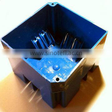 Plastic injection molded container