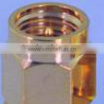 sma ra rp connector for cable assembly terminal clamp, iso crimp teriminal connector