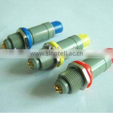 4 pin waterproof plastic medical connector