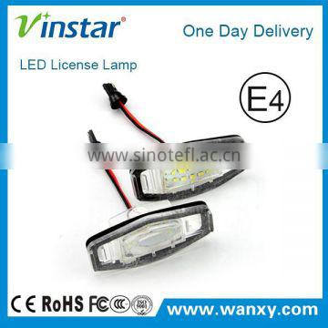 LED License Plate Lamp for Honda C.ivic VII4/5D(01-05)/ C.ivic VIII(06-)/Accord 4D(03-08)/Legend(99-04)/ City 4D(03-09)