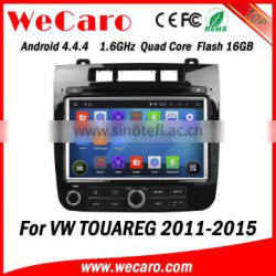 Wecaro WC-VT8009 Android 4.4.4 car multimedia system double din for volkswagen touareg car audio system audio system GPS