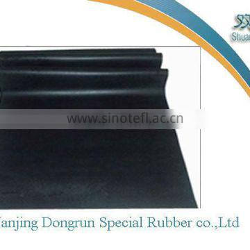 1.45 gravity black rubber sheet