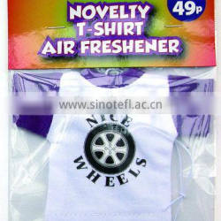 2015 jersey air freshener for mall promotional