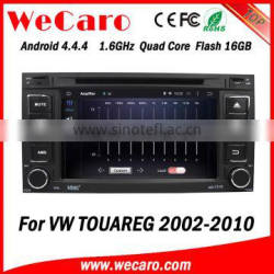 Wecaro WC-VU7006 Android 4.4.4 car multimedia system in dash for volkswagen touareg car multimedia player radio gps 1.6 ghz cpu