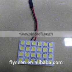 PCB 24SMD 5050 car panel light, Car Roof 12v 24v Led Bulb ,Auto Bulb 12v/24v Quality Choice