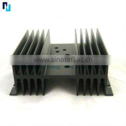 OEM aluminum extruded heat sink machining