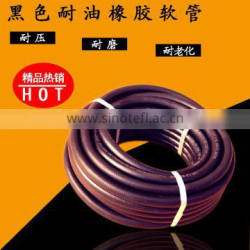 "3/8"" red color smooth surface rubber air hose for compressor"