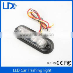 New products car accessory waterproof flash light 12v strobe light for car