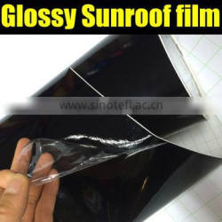 Super glossy sunroof car sticker with air free bubbles 1.35*15m /1.52*30m
