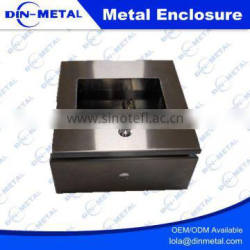 Control Box Type and IP66 Protection Level Wall Mounting Stainless Steel Enclosures