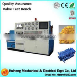 Multi channel valve test bench,hydraulic test bench