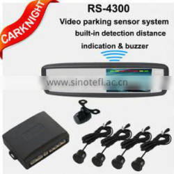 4.3 inch multifunctional visual reversing radar with auto reminding voice