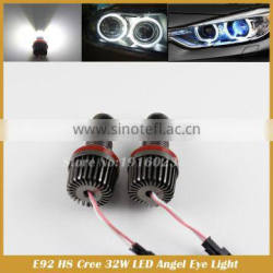 No Error H8 32W Angel Eye Halo Light Replacement kit for E90 E92 E60 F01 X5 X6 1 3 5 6 7 series