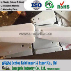 High precision machined plastic part for hardware electronics