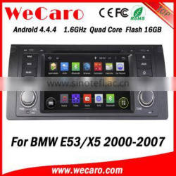 Wecaro Android 4.4.4 car dvd player 2 din car stereo for bmw e53 x5 radio gps 1080p 2000-2007 Quality Choice