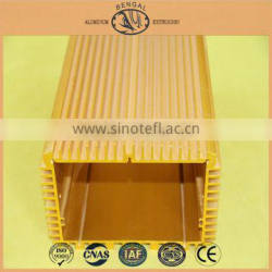 Extruded Aluminium Heat Sink Enclosure Made in Foshan, China Gold Supplier