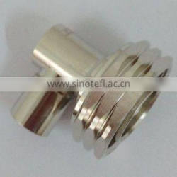 Waterproof din male right angle 90 degree solder type connector