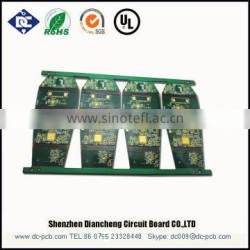 Pcb with gold finger,multilayer pcb board with high quality and low cost