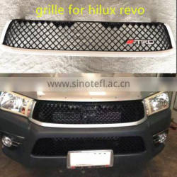 hilux revo grille bent*y style front grille and bumper mesh