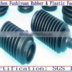custom made dustproof waterproof Molded Insulation pipe Rubber Bellows Pump Rubber Bellows Tube