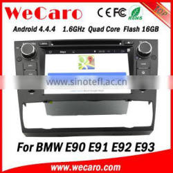 "Wecaro Android 4.4.4 car dvd player 7"" touch screen for bmw e90 navigation system WIFI 3G bluetooth 2005-2012"