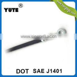 dot approved sae j1401 hydraulic hoses brake assembly with metal fittings