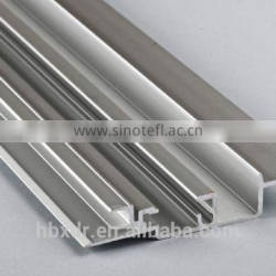 Aluminum Profiles of guide rail for buses