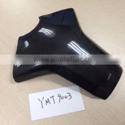 Dry Carbon Fiber motorcycle parts tank pad for Yamaha (Autoclave process)