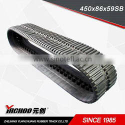 rubber track( 450*86*LINKS SB)