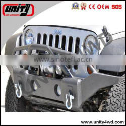 Off road auto parts Front bumper for Wranlger jk 07+