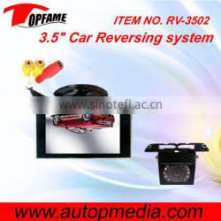 RV-3502 Smart Car rear view Parking system with 3.5inch digital screen monitor