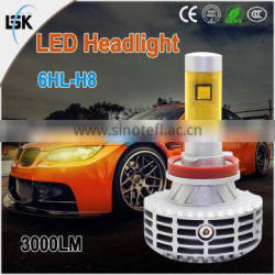 Super Bright Wide voltage and constant current design hi/low Beam G6 led headlight bulb kits for Auto /Motorcycle