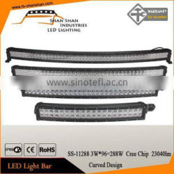 Curve 50 inch 288W waterproof Led Light Bar Offroad Led Light Bar