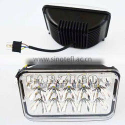 """CZG-4645 high power 5"""" square Guangdong factory direct sale with low/ high beam 45w LED driving light"""