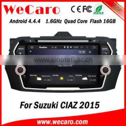 Wecaro WC-SC8075 Android 4.4.4 car multimedia system double din for suzuki swift car dvd player WIFI 3G bluetooth 2015